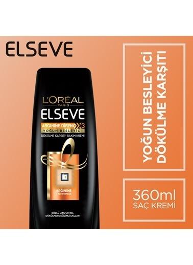 L'Oréal Paris Elseve Arginine Direç X3 Yoğun Besleyici Dökülme Karşıtı Bakım Kremi 360 Ml Renkli